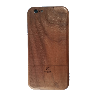Wooden IPhone 6 Case Walnut Back AltNova Cases