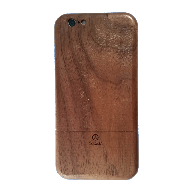 Wooden IPhone 6 Case American Walnut Back AltNova Cases