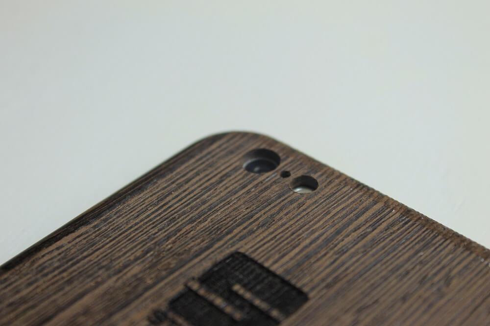 AltNova Cases Wenge Wooden case iphone 6 Stolm logo customize
