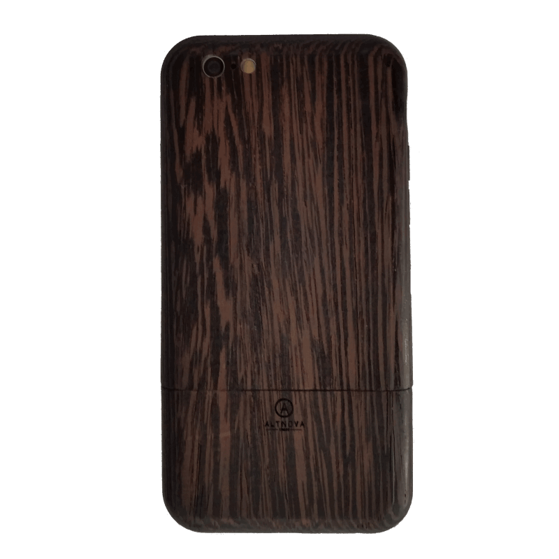 Wenge Wooden IPhone 6 Case AltNova Cases Back (1)